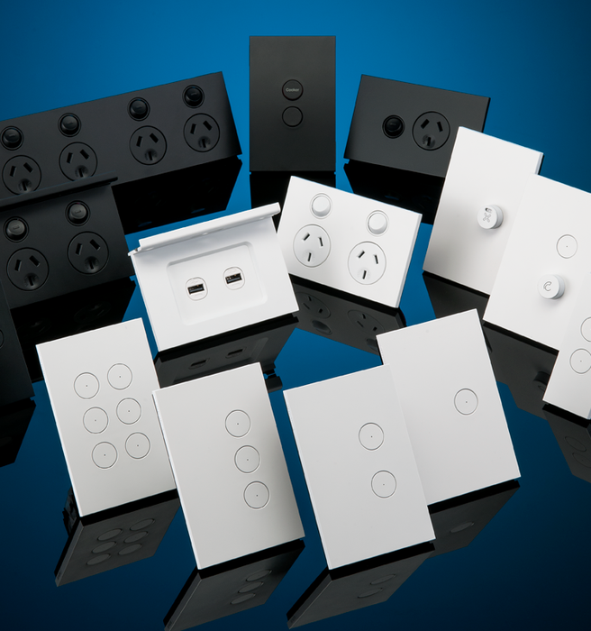 Clipsal Schneider C-Bus Saturn Zen home automation wall switches and matching accessories brochure (1.10MB pdf).
