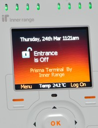Go to Inner Range integriti home security, access control and automation system page.