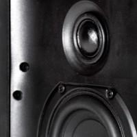 Krix Ecliptix in-wall loudspeaker photo without grille hires (64KB jpg).