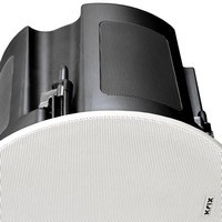 Krix Stratospherix AS outdoor 2-way in-ceiling speaker photo with grille on (193KB jpg).