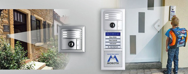 Mobotix T25 home automation IP door station and camera brochure (3.0MB pdf)